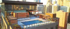 Rooftop Swimming Pool and Patio