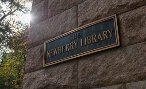 The Newberry Library sign