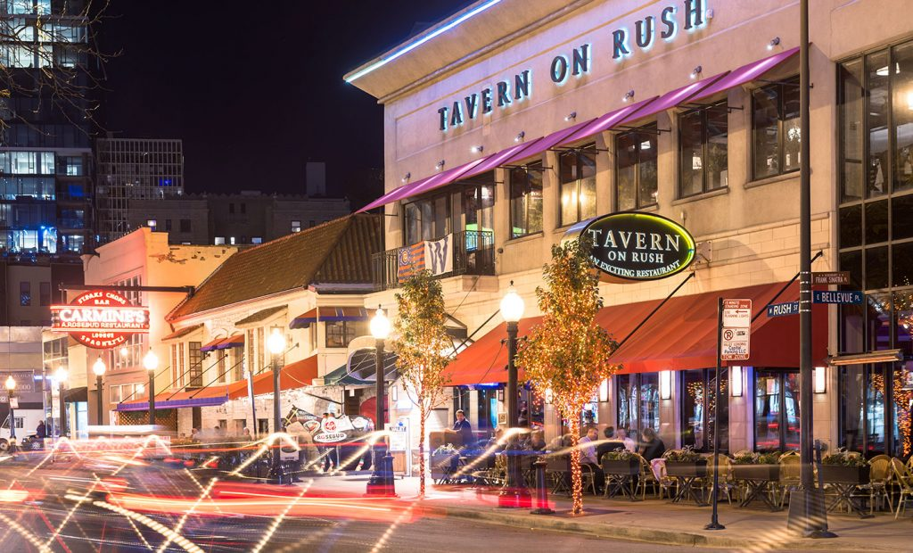 Tavern on Rush exterior