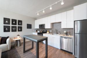 Modern kitchen and appliances